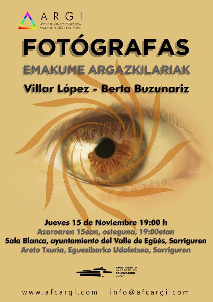FOTÓGRAFAS / EMAKUME ARGAZKILARIAK